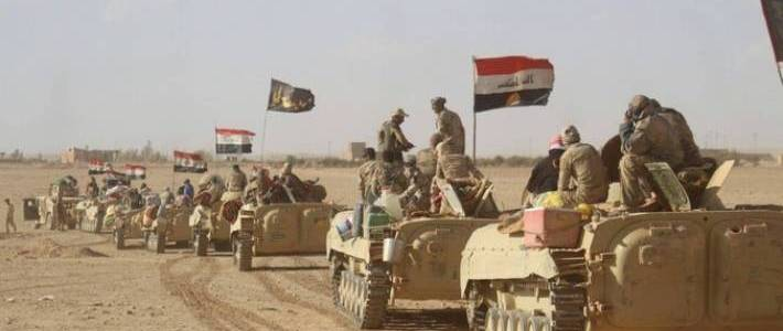 Iraqi Army forces launched operation against the Islamic State north of Baghdad