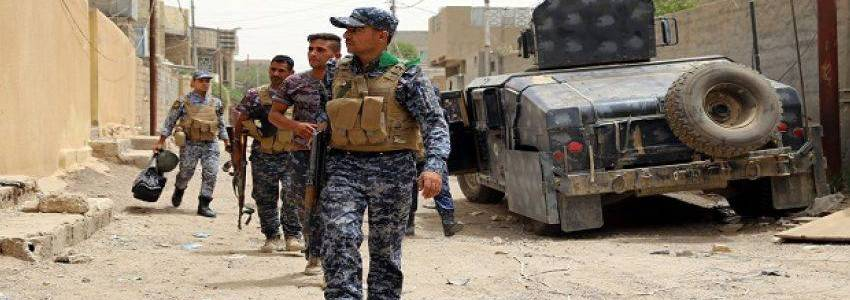 Iraqi army forces killed suicide bomber and three terrorists in Diyala