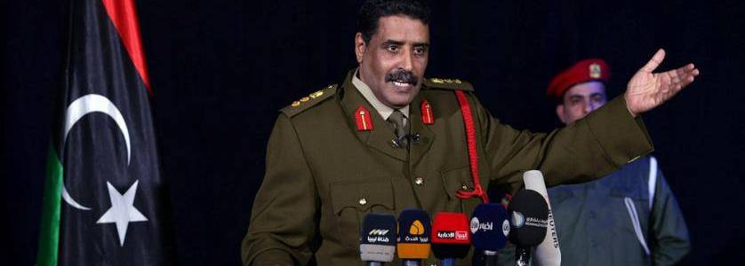 LNA spokesman: Around 17,000 terrorists moved from Syria to Libya
