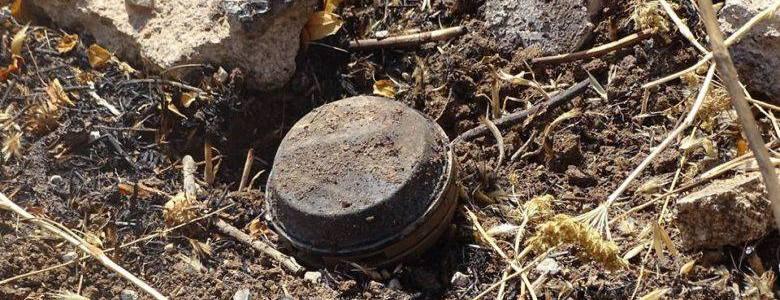 Landmine explodes in the Syrian desert leaving four members of Liwa al-Quds dead