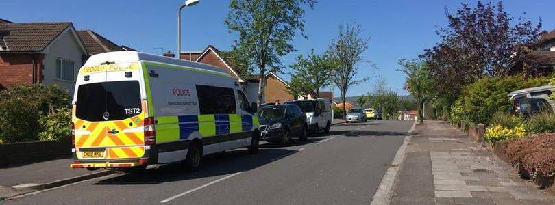 Man arrested on suspicion of engaging in preparing acts of terrorism