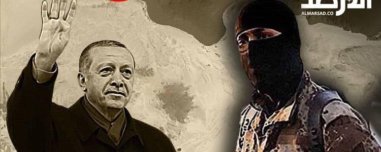 Turkey is sending Islamic State terrorists into Libya from the Syrian desert