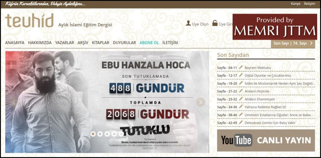 GFATF - LLL - Turkish Islamic State emir continues to operate through dozens of social media accounts 13