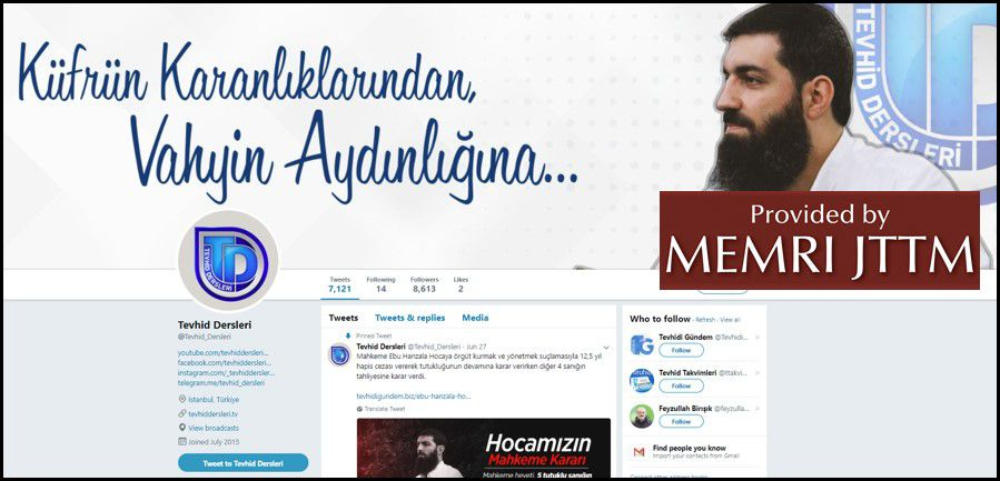 GFATF - LLL - Turkish Islamic State emir continues to operate through dozens of social media accounts 29