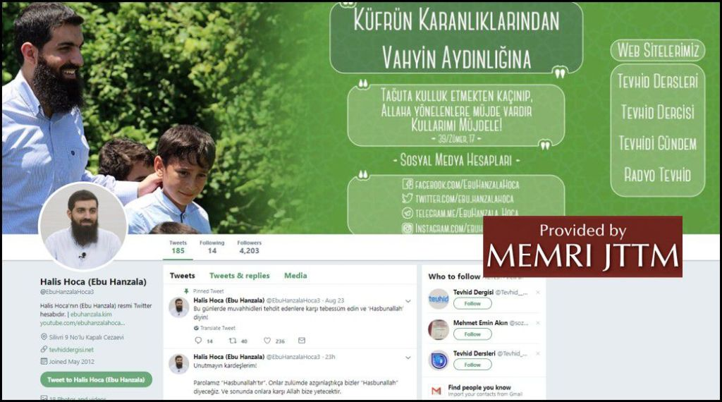 GFATF - LLL - Turkish Islamic State emir continues to operate through dozens of social media accounts 34