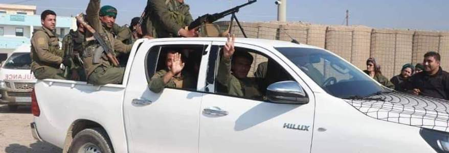 Al-Asayish forces clashed with Islamic State cells in Al-Tabqa city