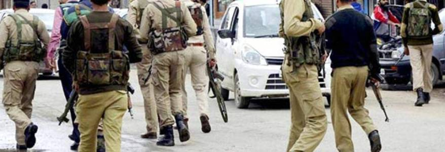 Encounter breaks out between Jammu and Kashmir police forces and terrorists in Srinagar