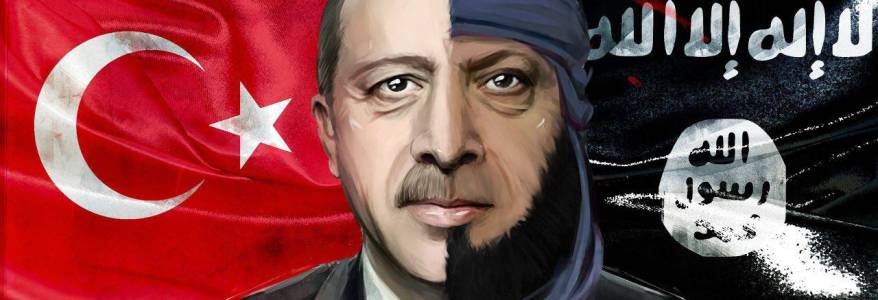 Libyan National Army show there is a clear link between the Turkish President Erdogan and Islamic State terrorists