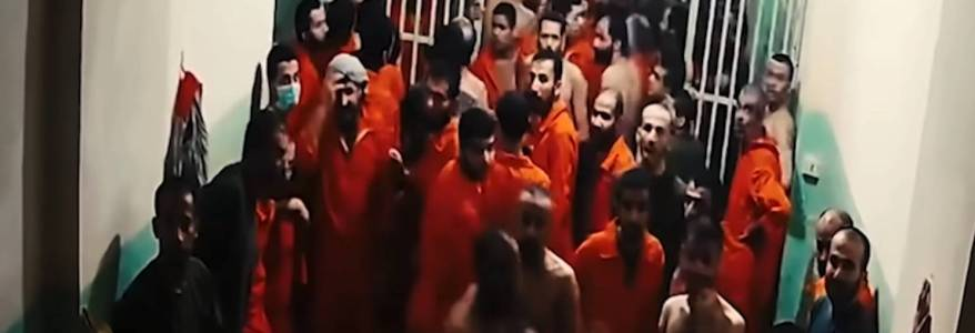 Seven Islamic State terrorists escaped from Kurdish-guarded prison in northeastern Syria
