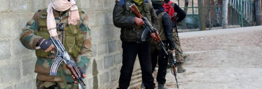 Five Hizb Mujahideen terrorists killed in encounter with security forces in Jammu and Kashmir's Shopian