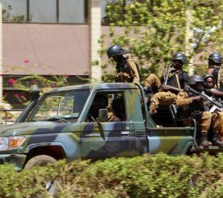 GFATF - LLL - Gunmen killed at least 30 people in Burkina Faso terrorist attack