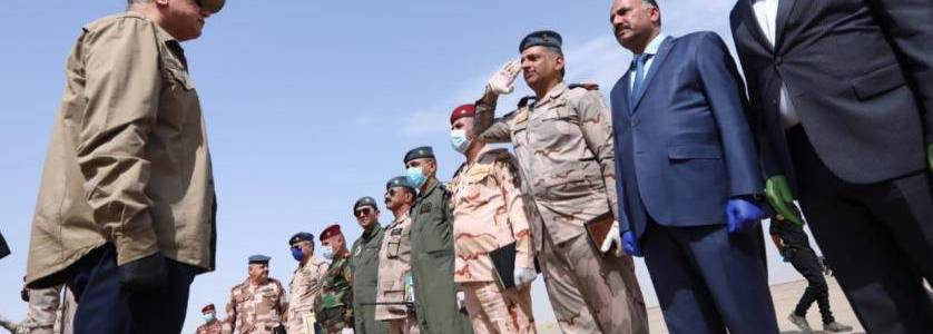 Iraqi army forces launched operation to purge the Islamic State remnants in Kirkuk