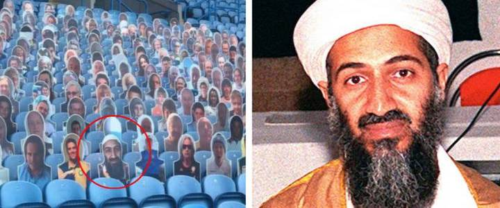 Leeds United football club sorry after Osama Bin Laden cutout appears in crowd