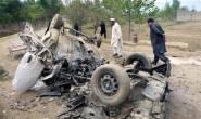 One officer killed as roadside bomb targeted police van in southwest Pakistan