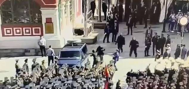 Russian authorities claimed they foiled a terrorist attack at the Victory Day parade