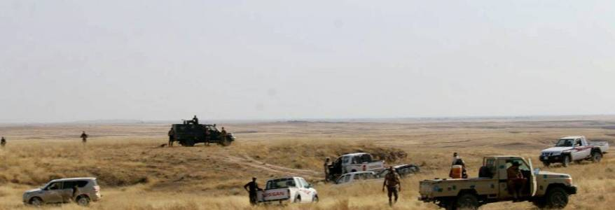 Three Islamic State sites destroyed in security operations in Khanaqin