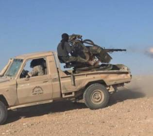 GFATF - LLL - Islamic State terrorists attack the Syrian army
