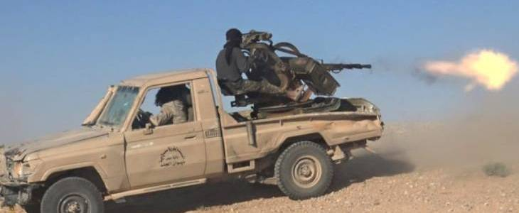 Islamic State terrorists attacked the Syrian army