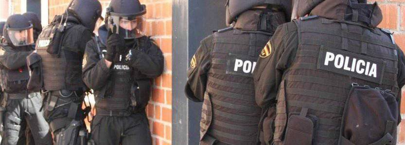 Spanish police forces detained two Algerian citizens in anti-terrorism operation in Barcelona