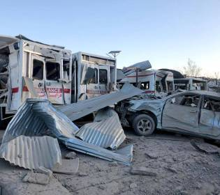 GFATF - LLL - Suicide car bombing attack in Afghanistan leave seven policemen dead