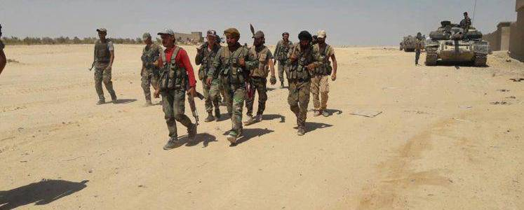 Syrian military killed several Islamic State terrorists in southern Raqqa