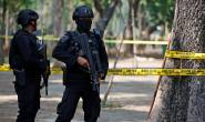 Indonesian police seized five bombs and explosives during terrorist raids