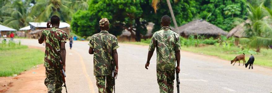 Mozambique military launched offensive after Islamic State terror attack