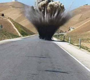 GFATF - LLL - Seven people killed as Taliban roadside bomb goes off in the western Nimroz province of Afghanistan