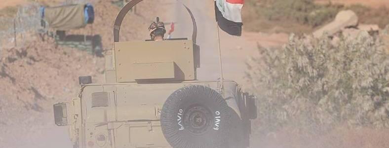 Iraqi military intelligence locates an Islamic State den near the international highway