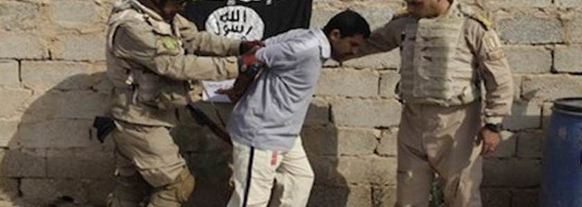 Iraqi security forces arrested three Islamic State terrorist group members