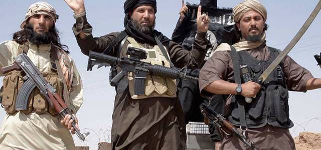 Islamic State members detonate grenade as they attack headquarters of local council
