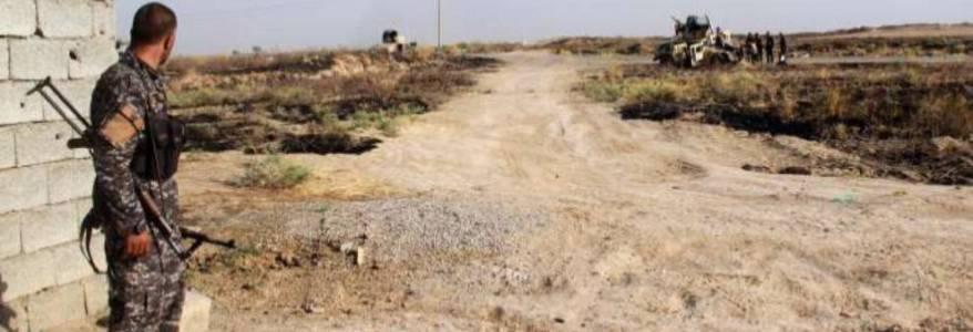 Islamic State mercenaries attack a village in Germiyan