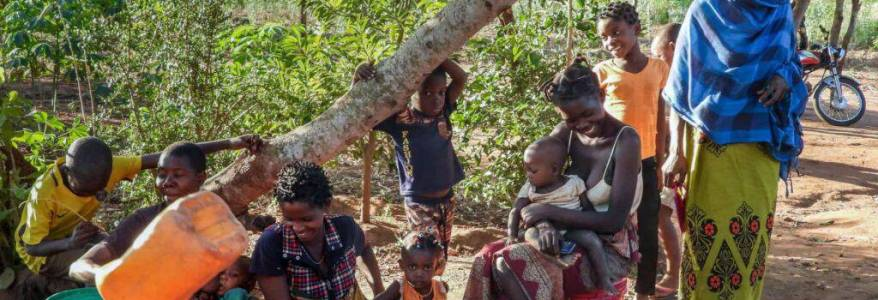 More than 300,000 people are displaced as the terrorist violence in Mozambique is rising