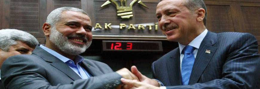 The relationship between Turkey and Hamas terrorist group remains strong