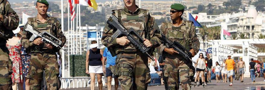 The risk of terrorist attacks in France remains extremely high