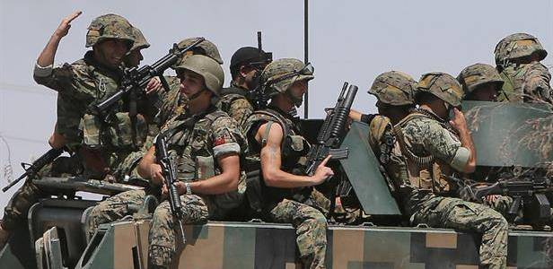 Three Lebanese soldiers killed in anti-terrorism raid in north Lebanon