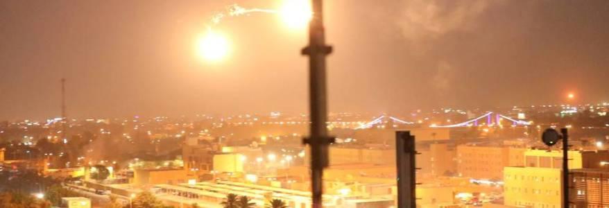 Three mortar shells target the Baghdad's Green Zone