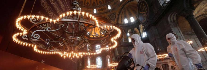 Islamic State terrorists planned attack on the Hagia Sophia in Turkey