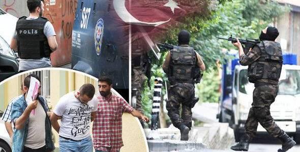Turkish authorities arrested seven Islamic State terror suspects in Bursa province