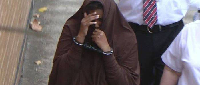 Australian Islamic State member Zainab Abdirahman-Khalif is sent back to jail after her appeal was overturned