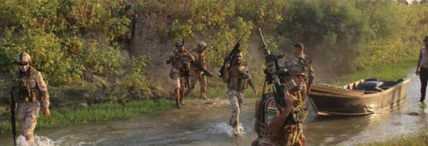 Iraqi army forces launched Mosul offensive to drive out Islamic State terrorists