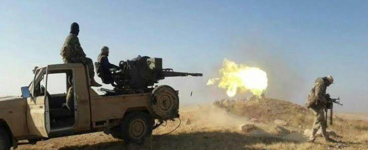Islamic State terrorists renew attacks on Syrian regime forces positions in eastern Hama
