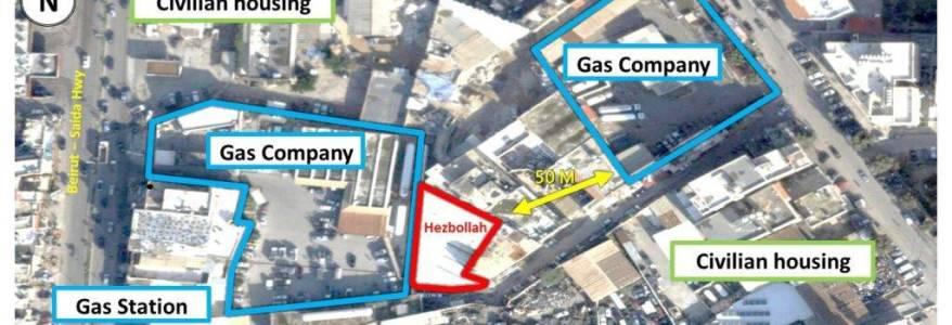 Israeli Prime Minister Netanyahu exposes Hezbollah missile sites in Beirut