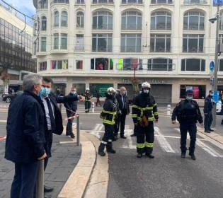 GFATF - LLL - Knife attacker in the French city of Nice shouted Allahu Akbar