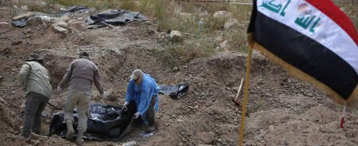 Mass grave of Islamic State victims found in Iraq's Kirkuk