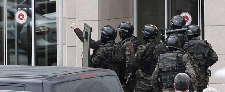 Turkish authorities arrested sixteen Islamic State terror suspects