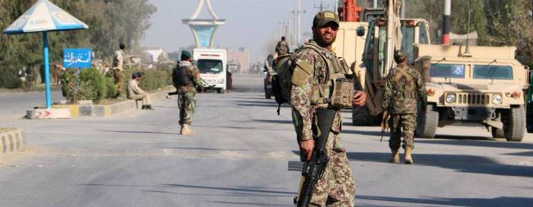 Deadly suicide car bomb hits police base in Kandahar killing at least four people