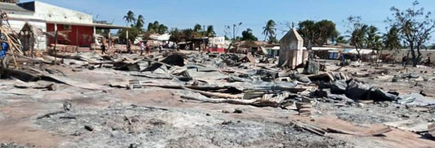 Over 50 people beheaded after Islamic State-linked militants storm ceremony in Mozambique