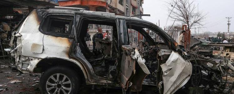 At least five killed in Kabul car bomb blast