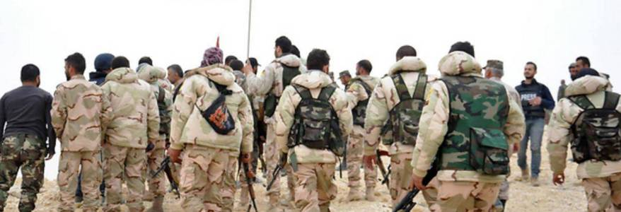 At least 22 Syrian regime soldiers and Islamic State members killed in violent clashes